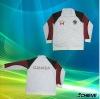 sublimation custom design tracksuit jackets/jacket wear 100%polyester
