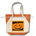 2010 Polyester Halloween gift bag,Halloween promotional bag,Shopper bag