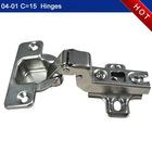 Steel furniture hinge