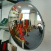 Reflective convex mirrors