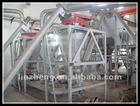 waste tire recycling machine classifier for separating fiber out of the rubber grains