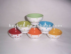 round ceramic bowl with dot