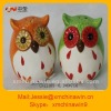Unique Ceramic owl salt and pepper shakers
