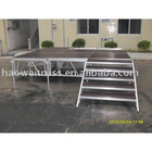 Aluminum T-stage Mobile/ Movable Exhibition Stage Display Equipment