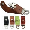 gift leather usb flash drive