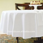 100% cotton damask /satin hotel table linen/hotel table cloth