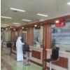 bank queue line control barrier queue management machine simple queue system