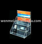 (AD-010) Acrylic display stand, acrylic floor display