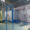 manual powder coating line