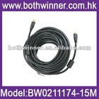 1.4 Version HDMI to HDMI cable 15m