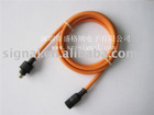 Mini-Din waterproof connector cable