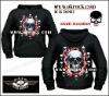 skull hoodies skull hoody metal hoodies