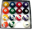 Promotional billiard ball