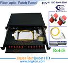 """1U 19"""" Sliding Fiber Optic Patch Panels and ODF-FC 12 Ports"""