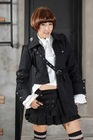 punk rave rock visual kei cosplay gothic jacket coat 71044