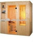 PFDDS-004HH 4persons traditional wooden dry steam sauna house