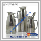 Double wall Stainless steel Thermos Vacuum Jug hinged lid 1.0L 1.5L 2.0L