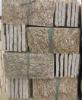 wall mushroomed stone