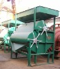 Top feeding wet iron ore magnetic separator