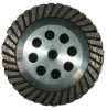 turbo cup wheel, grinding cup wheel,for granite/marble surface,concers,edges and angle