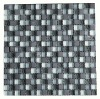 glass mix marble mosaic tile