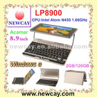 8.9 inch Netbook with windows 8 OS (LP8900)