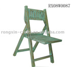 antique wooden folding chair for displaying