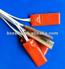 2012 Hot Sell CE ISO9001:2008 UL Electric Round Silicone Rubber Flexible Heater Elements with thermostat
