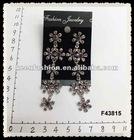 alloy diamond fashion earrings F43815