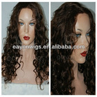 Top quality cheap virgin european human hair full lace wigs