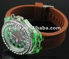 2012 New Arrival Silicone colorlight watch