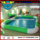 different color inflatable square swimming pool