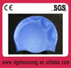golden silicone swimming cap with SGS certification