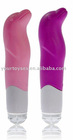 4-function adult sex vibrating Dolphin Massager, silicon vibrator
