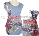 ladies' fasion printed dress
