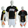 Pro basketball uniform with sublimation printing
