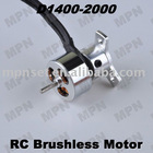 RC Brushless Motors DC Outrunner Hobby Mini Motor D1400-2000