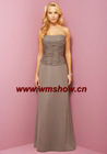 Off-shoulder Beaded Ruffle New Style Bridesmaid Dress