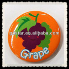 printed plastic fridge magnet sticker