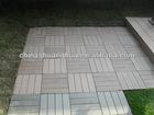 Interlocking WPC Decking Tiles
