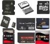 memory card(micro sd,ms produo,cf,sd,xd,mini,dv,m2,sm)