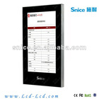 21.5inch super thin hd totem advertising display