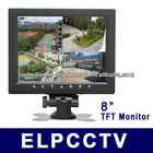 "8"" TFT LCD monitor with TV/AV/PC and BNC port ELP-T08P"