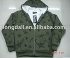 Star print fabrics fleece for yong man