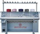 Semi-jacquard Collar Knitting machine