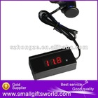 2012 Brand New 12V-24V Car LCD Battery Voltage Meter Monitor Tester--Powered by car cigarette