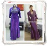 Mother of the Long Bride Dresses, Evening Dresses, Plus Size Evening Dress