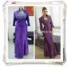 Mother of the Long Bride Dresses, Evening Dresses, Plus Size Evening Dress