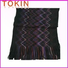 lady's 100% acrylic fashion jacquard scarf