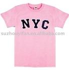 100% organic cotton t shirt fashion style TS-0010